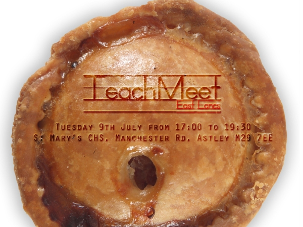 TeachMeet East Lancs Logo